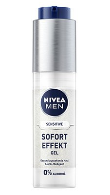 NIVEA MEN Sensitive Sofort Effekt Gel