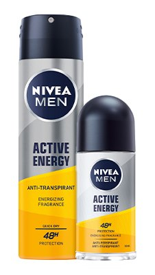 NIVEA MEN ACTIVE ENERGY DEOS